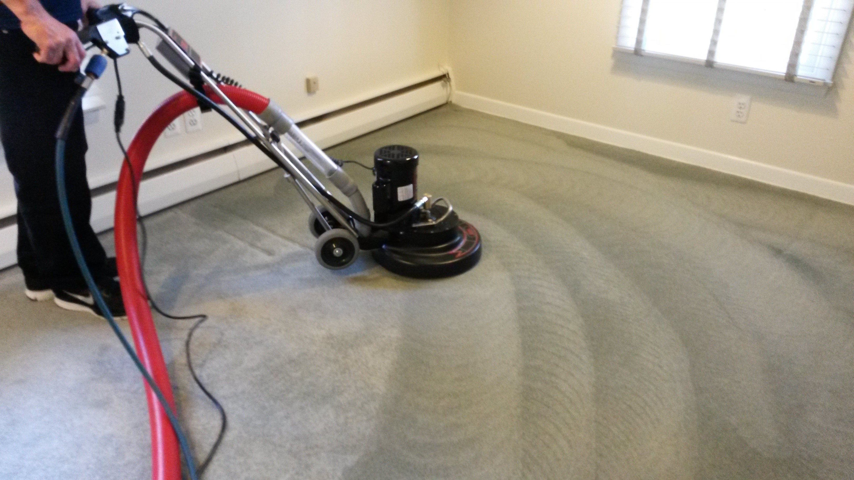 Carpet cleaning includes approaches pointed out